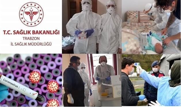 Trabzon'da Covid-19 Dedektifleri Sahada