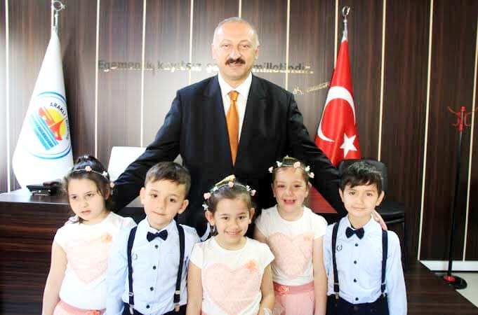 Başkan Çebi'den 23 Nisan mesajı