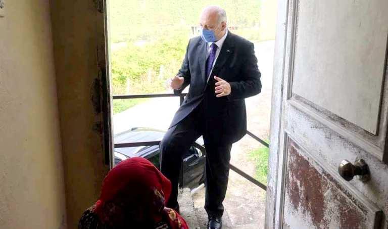 Başkan Çebi'den Yaşlılara Moral Ziyareti