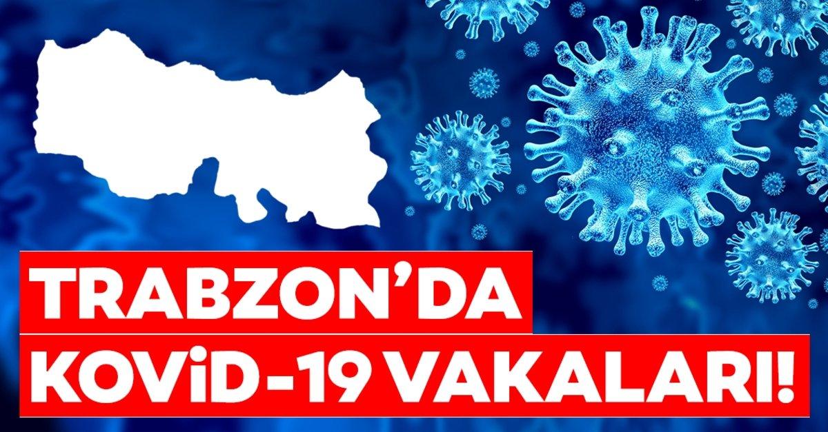 Trabzon'da korona virüsü vakaları