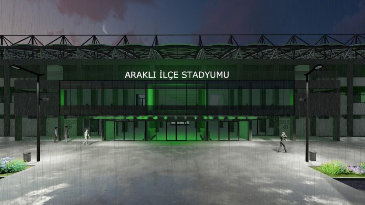Araklı'ya Yakışacak Stad!