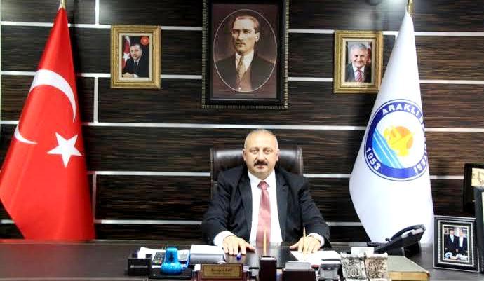 Başkan Çebi'den 19 Mayıs mesajı