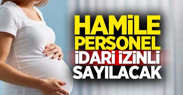 Hamile kamu personeliyle ilgili düzenleme