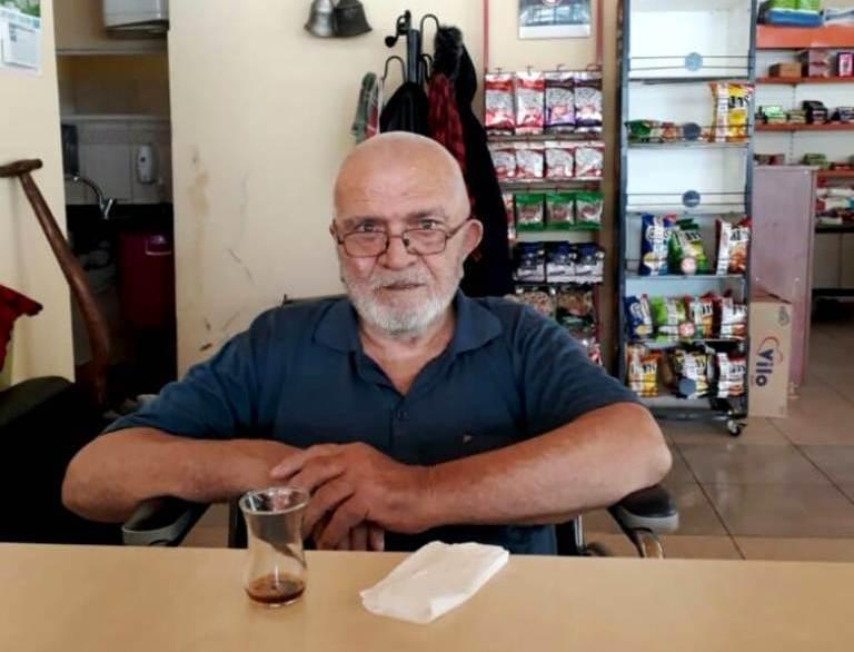 Araklı esnaflarından Mahmut Dayı vefat etti