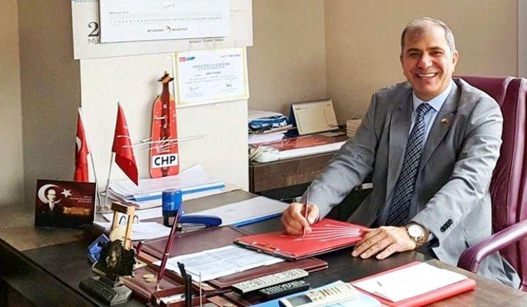 CHP İlçe Başkanı Solmaz'dan Babalar Günü Kutlaması