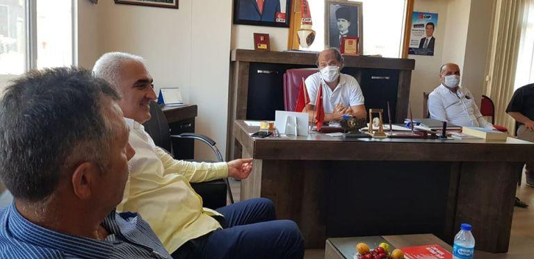 CHP Trabzon İl Başkanı Hacısalihoğlu Araklı İlçe Başkanlığını ziyaret etti
