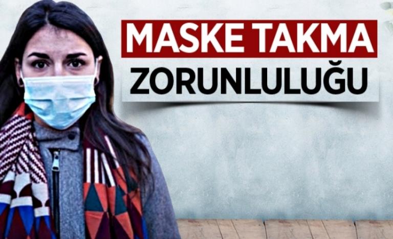 Araklı'da  6 caddede maske takma zorunluluğu getirildi