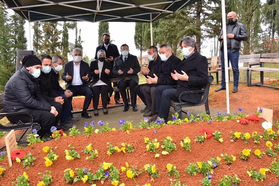 Çebi'den Konya Şehidimizin Baba Ocağına Ziyaret