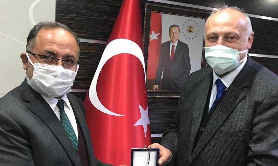 Araklı Müftüsü İstanbul Güngören'e...