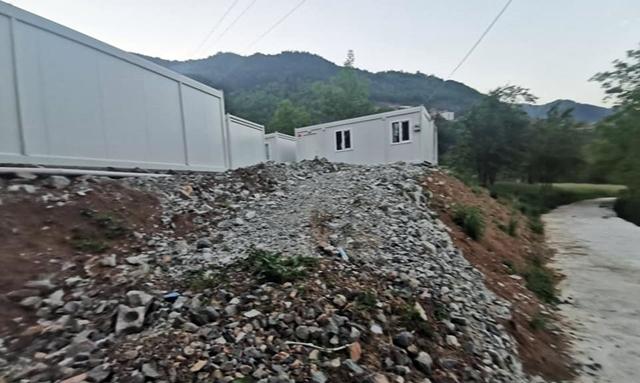 Taşgeçit Afetzedeleri Konteyner Evlerine Kavuşuyor