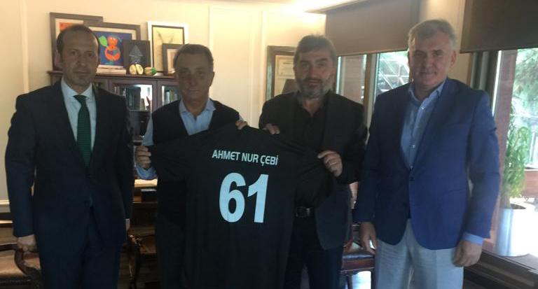 Araklı 1961 Spor Başkanı Ahmet Nur Çebi'den Destek İstedi