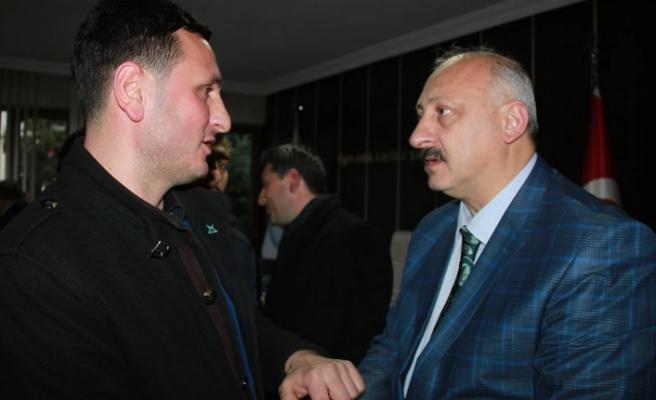 Araklı'da başkan Çebi gençlerle buluştu