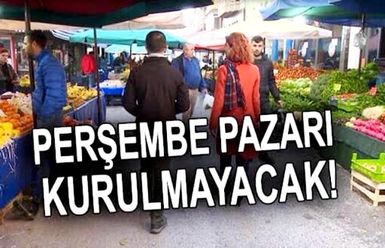 Araklı'da Perşembe Pazarı Kurulacak mı?