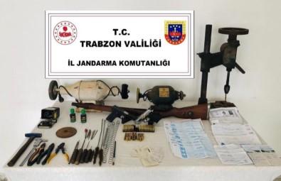 Araklı'da Silah İmalathanesi Baskın