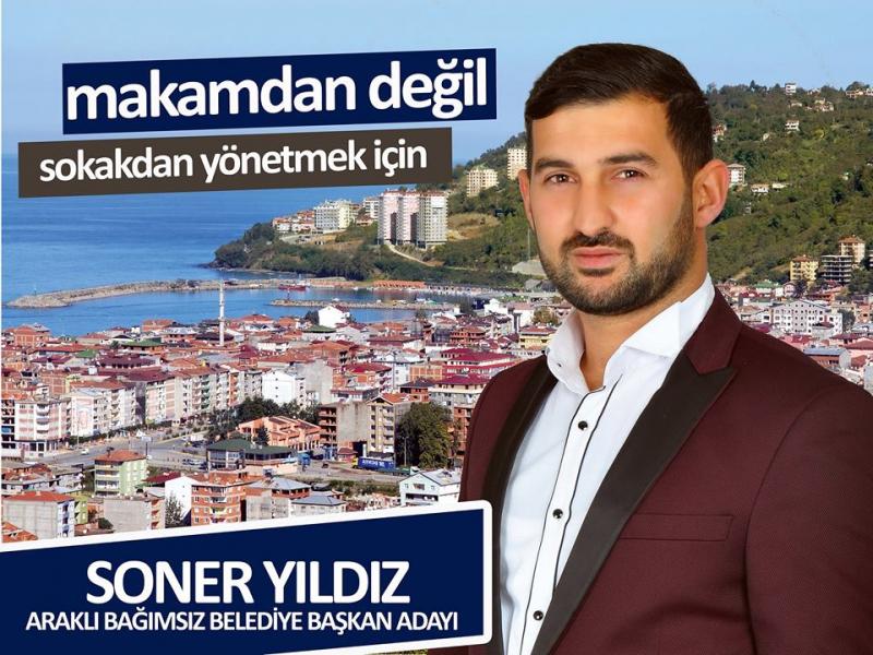 Araklı'nın en genç belediye başkan adayı
