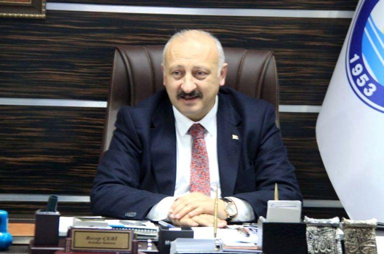 """Başkan Çebi'den  """"Biz Bize Yeteriz Türkiyem"""" kampanyasına destek"""