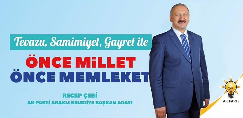 Başkan Erdoğan, Recep Çebi İle Yola Devam Dedi