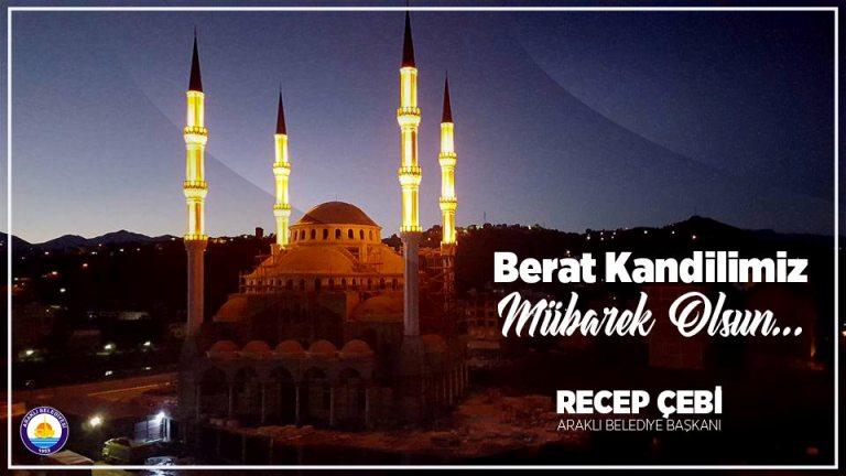 Başkan Çebi'den Berat Kandili Mesajı