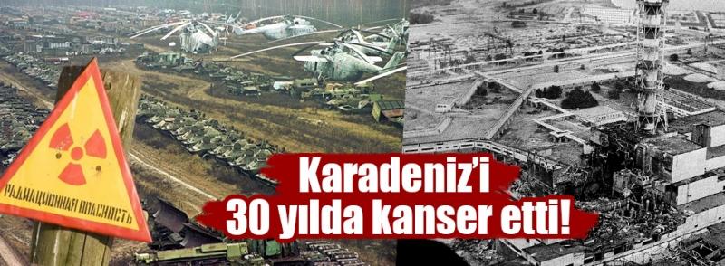 Çernobil'den 30 Yıl Sonra Kanserde Patlama