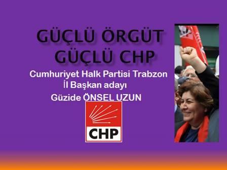 CHP Trabzon İl Başkanı Adayı Güzide Abla Araklı'da