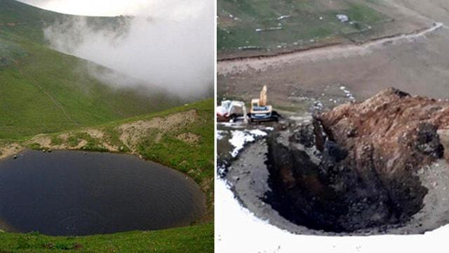 Dipsiz Gölü kimin kuruttuğu ortaya çıktı