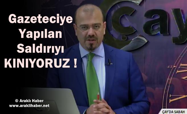 Gazeteci Murat Togayoğlu'na Çirkin Saldırı