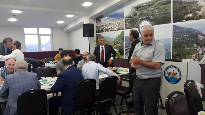 İstanbul Araklılılar Derneği İftarı