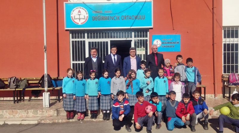 Kaymakam Çetin'den Değirmencik Okuluna Ziyaret