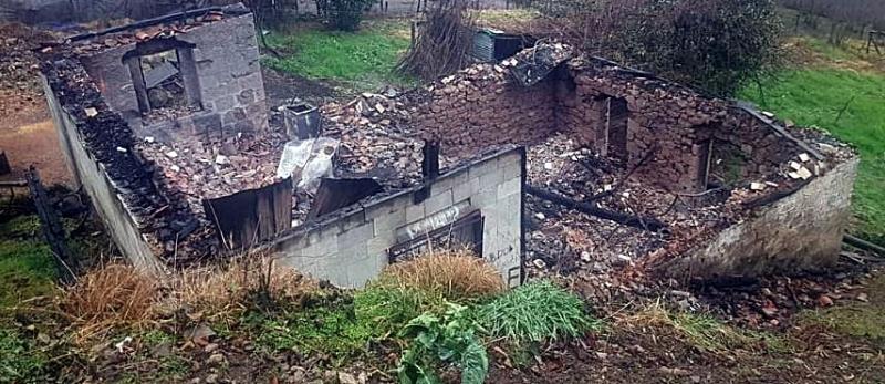 Merkezköy'de Ev Yangını