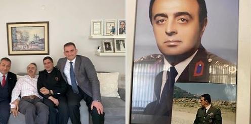Ortahisar Belediye Başkan Yardımcısı Çebi'den Gazi Albay'a Ziyaret