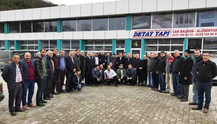 Sanayi Esnafından Başkan Çebi'ye Tam Destek