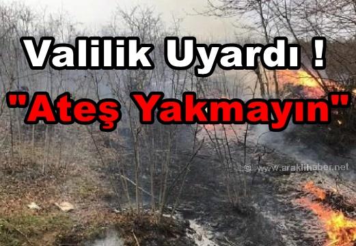 Trabzon Valiliği'nden Fırtına Uyarısı