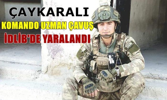 Trabzonlu Komando Uzman Çavuş Göksü Çakmak İdlib'de Yaralandı