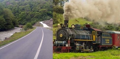1924'de Tren Yolu,2018'de Çöp Tesisi