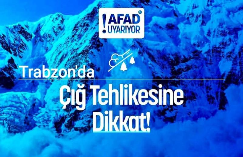 AFAD Trabzon'dan Araklı'ya Kar Yağışı Uyarısı!