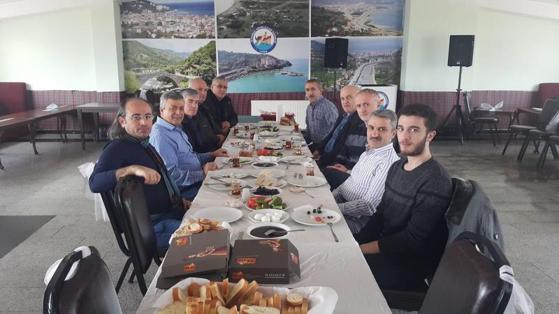 İstanbul Araklılılar Derneği Kahvaltısında Araklı Konuşuldu
