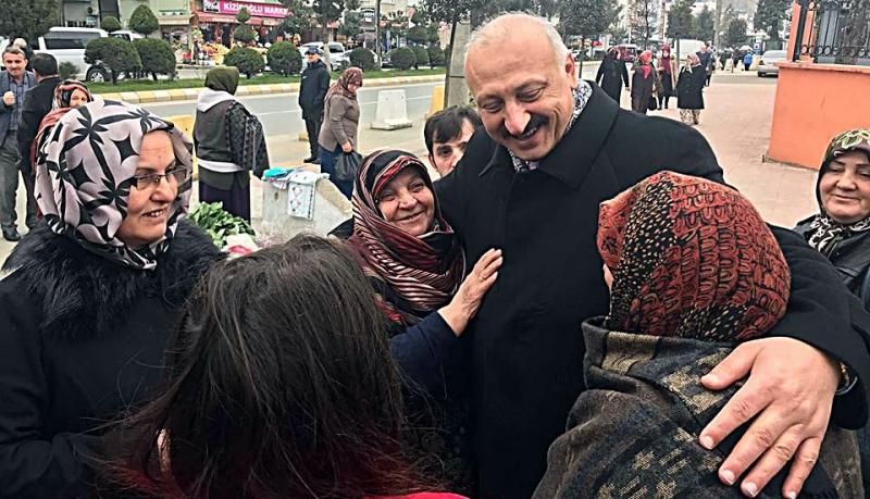 Recep Çebi'ye Halkın Sevgisi Çığ Gibi!