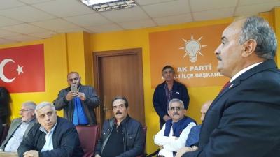 Mehmet Öztürk Araklı belediye başkanlığı için Ak partiden aday adaylığını açıkladı